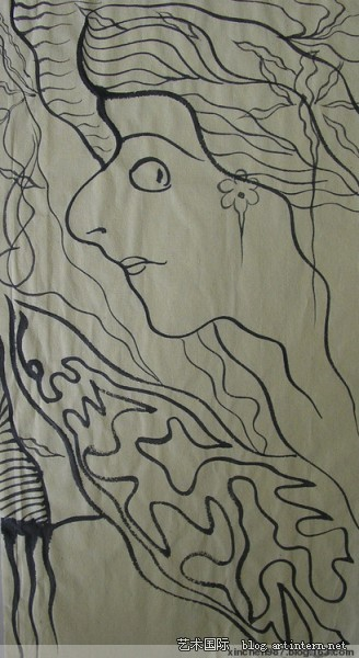 水墨抽象画03 水墨抽象画 水墨抽象画作品欣赏