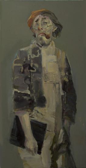 印象中的荒谬——评冉卫平的《生存》系列油画