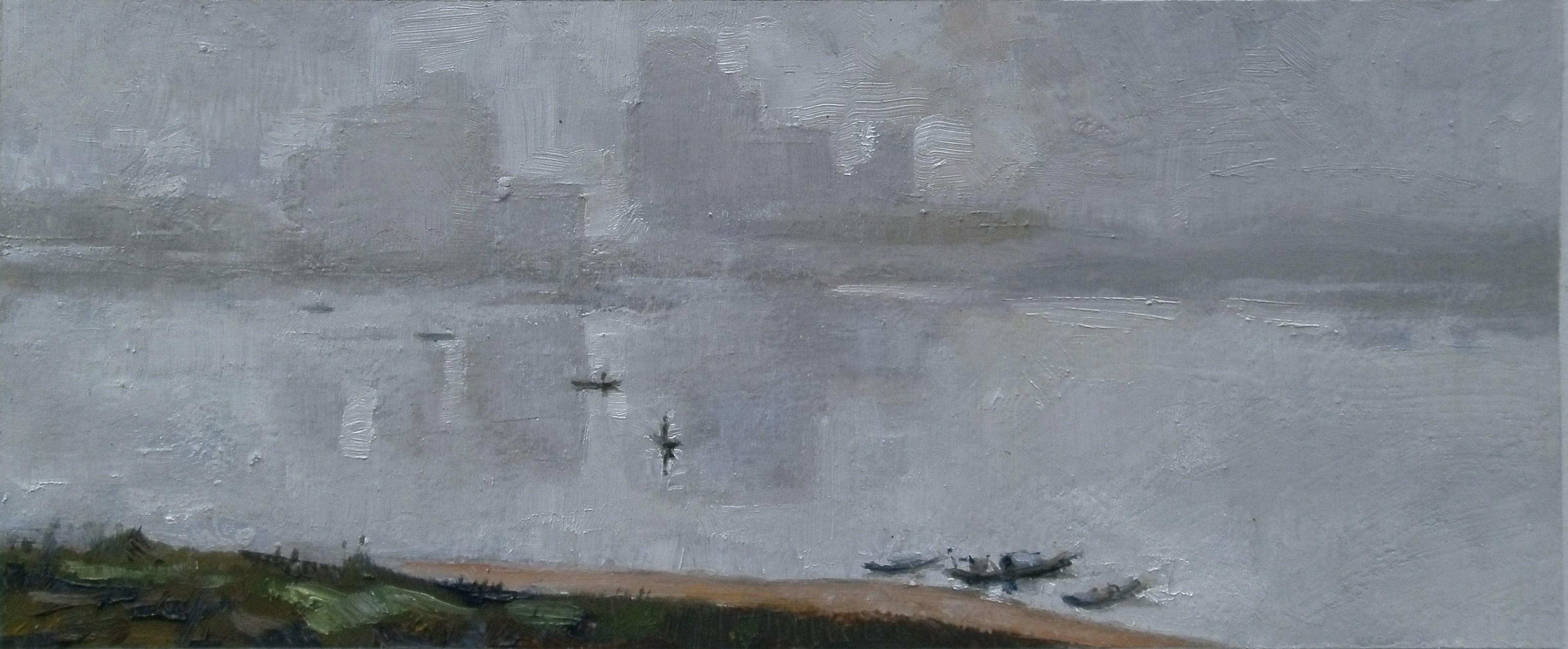 雾锁湘江(插图)