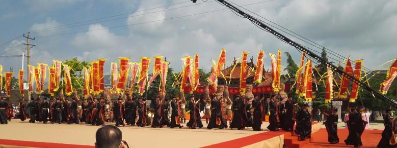 2017(丁酉)年祭祀中华人文始祖女娲典礼隆重举行