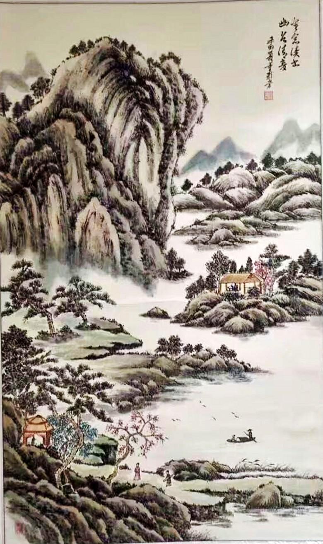 江苏行――书画家园宜兴艺术运营中心联展作品及笔会