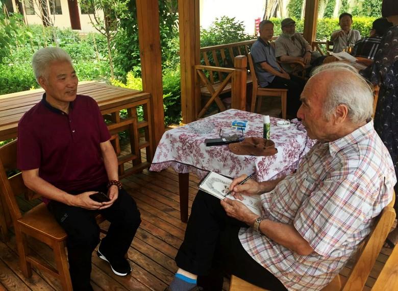 与刘开业老师在兰州小聚
